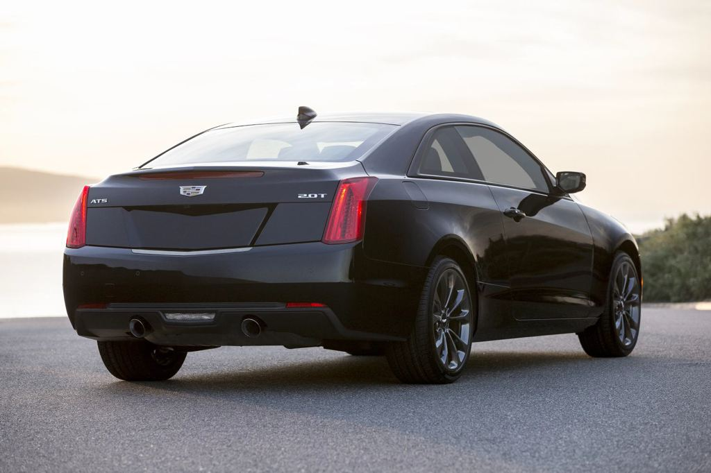 Official: Cadillac ATS and CTS Black Chrome
