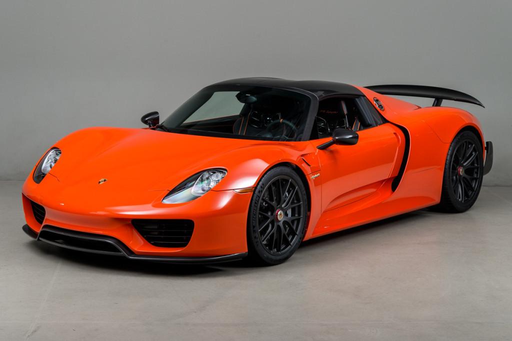 Gallery Continental Orange Porsche 918 Weissach