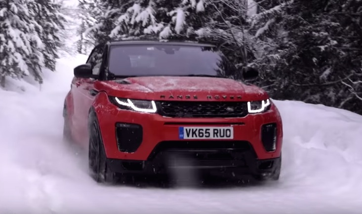 range rover evoque convertible tested on and off the road. Black Bedroom Furniture Sets. Home Design Ideas