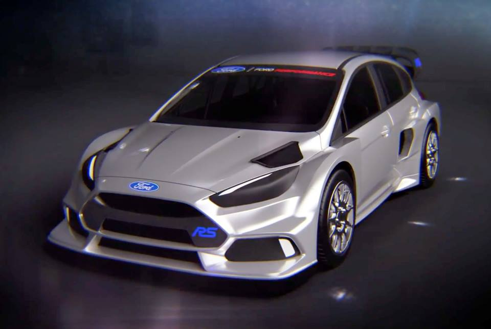ford focus rs rallycross revealed. Black Bedroom Furniture Sets. Home Design Ideas
