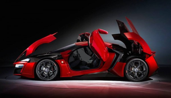 Eye Candy Furious Red Lykan Hypersport