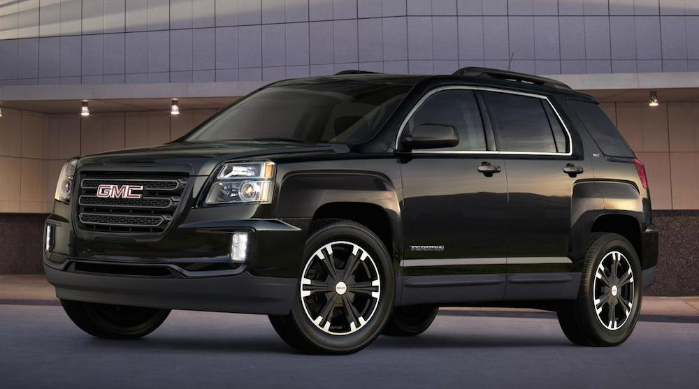 GMC Terrain Nightfall Edition at Official: 2017 GMC Terrain Nightfall Edition