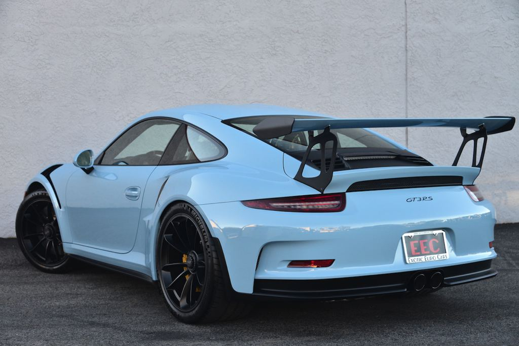 Gulf Blue Porsche 991 Gt3 Rs On Sale For 400k