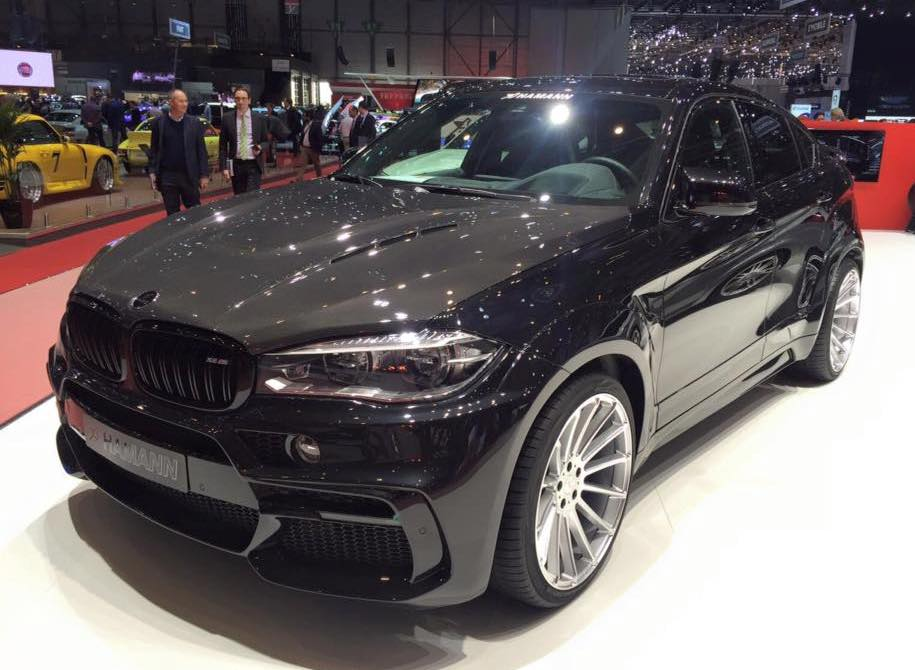 Geneva 2016 Hamann Bmw X6m Wide Body