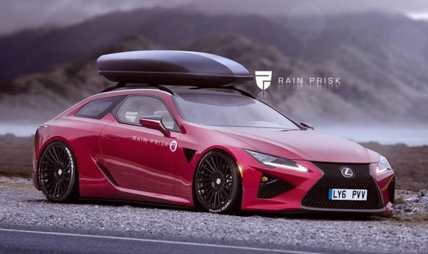 Lexus LC500 Shooting Brake
