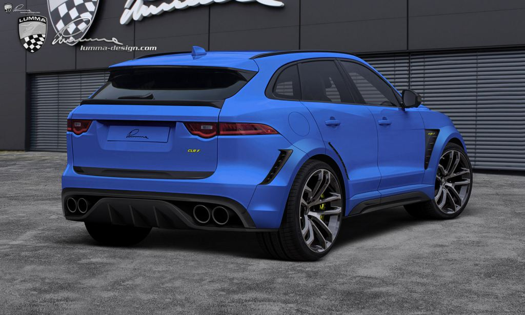 Preview Lumma Jaguar F Pace Clr