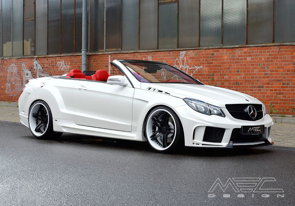 mec design mercedes e class cabrio facelift. Black Bedroom Furniture Sets. Home Design Ideas