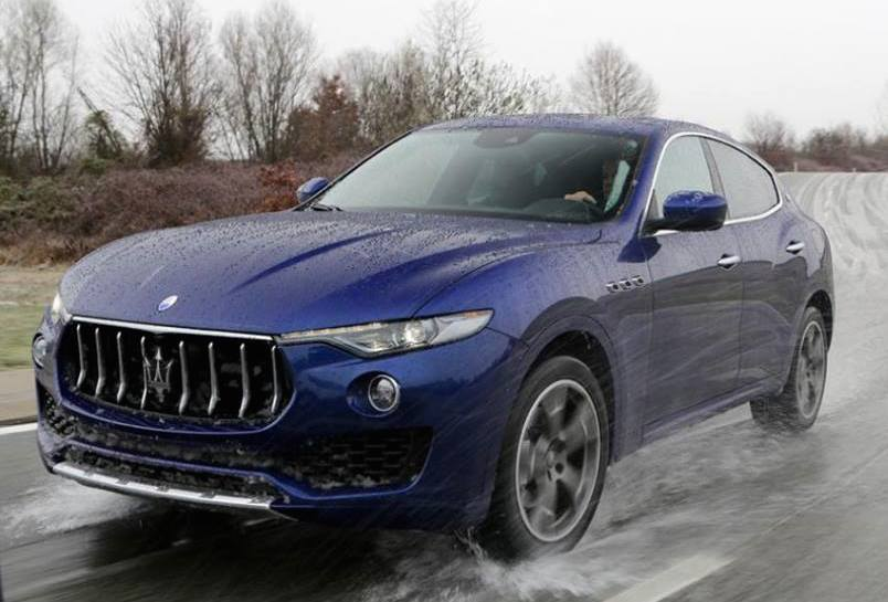 maserati levante in action official pricing. Black Bedroom Furniture Sets. Home Design Ideas