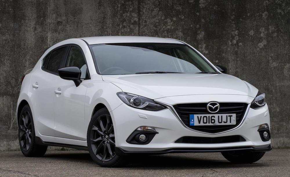 mazda3 sport black special edition launches in uk. Black Bedroom Furniture Sets. Home Design Ideas