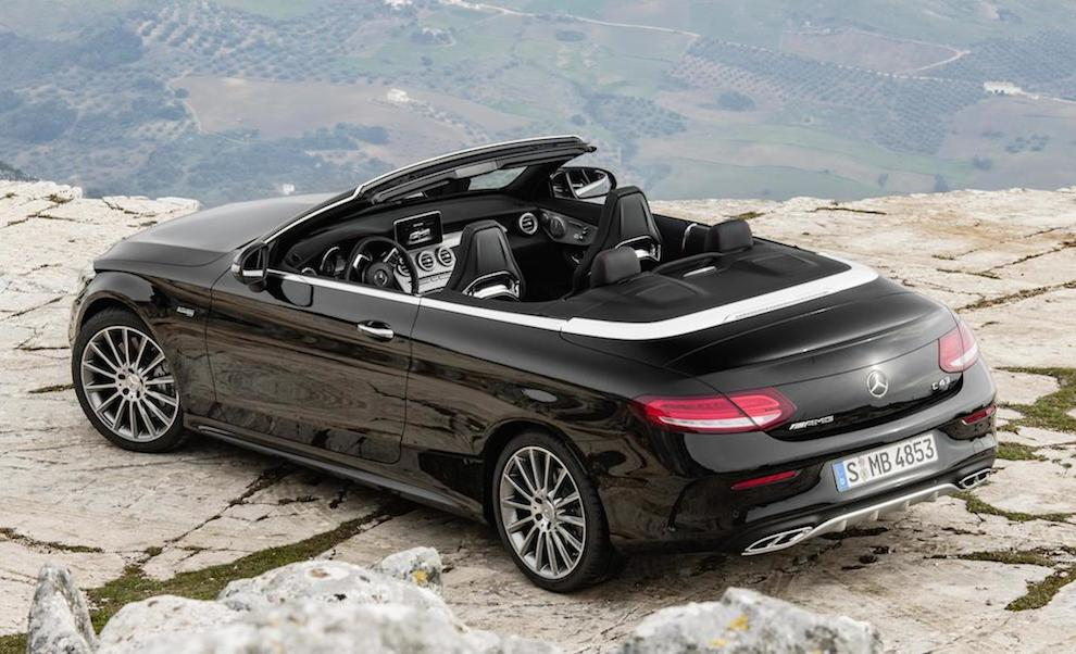 Mercedes AMG C43 Cabriolet 0 at Official: Mercedes AMG C43 Cabriolet