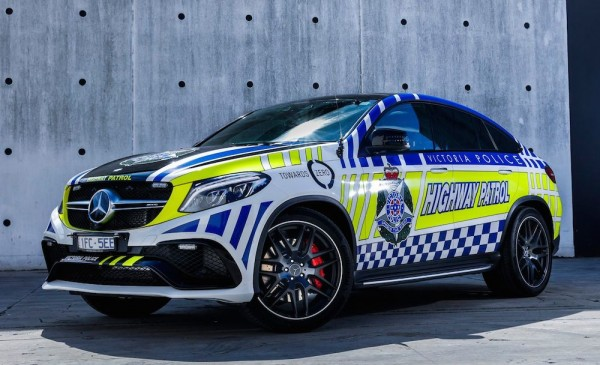 Mercedes-AMG GLE63-cop-car-1