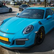 Miami Blue Porsche 991 GT3 RS-1
