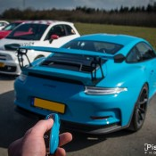 Miami Blue Porsche 991 GT3 RS-2