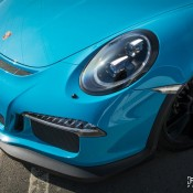 Miami Blue Porsche 991 GT3 RS-4