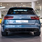 Polarblau Audi RS6-3