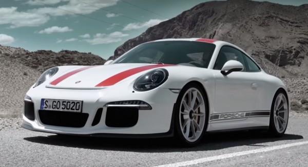 Porsche 911 R-promo
