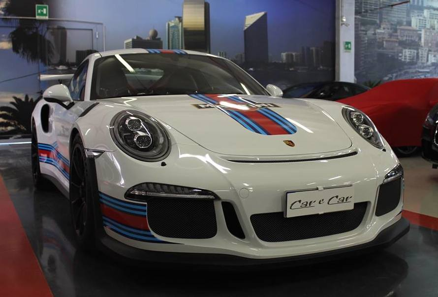Porsche 991 gt3 rs martini livery spotted for sale sciox Images