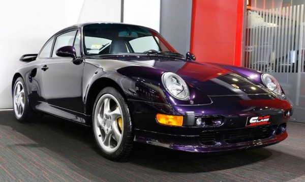 Purple Porsche 993 Turbo S-0