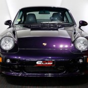 Purple Porsche 993 Turbo S-1