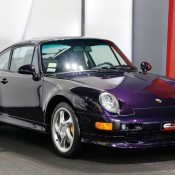 Purple Porsche 993 Turbo S-3