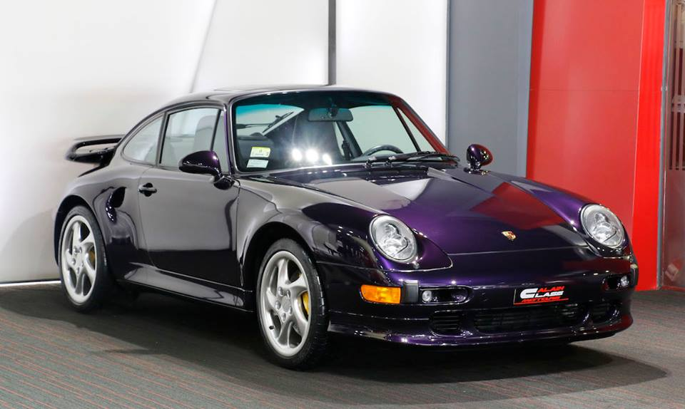 eye candy purple porsche 993 turbo s. Black Bedroom Furniture Sets. Home Design Ideas