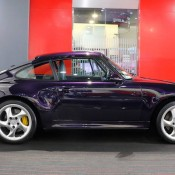 Purple Porsche 993 Turbo S-4