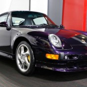 Purple Porsche 993 Turbo S-9
