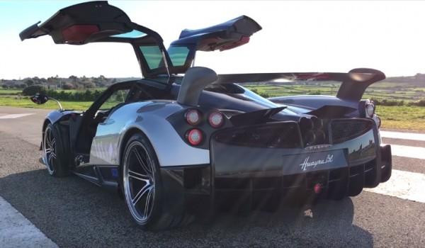 Sport Auto Pagani Huayra BC