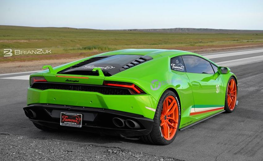 Supercharged Lamborghini Huracan Is Hella Beasty