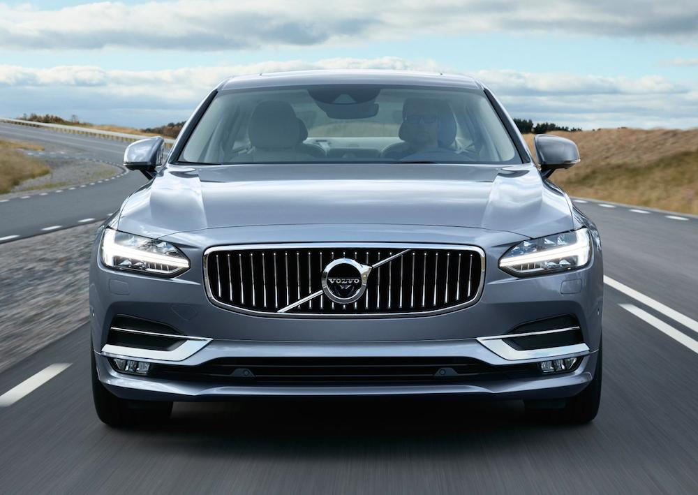 lastcarnews volvo s90 and v90 uk pricing and specs. Black Bedroom Furniture Sets. Home Design Ideas