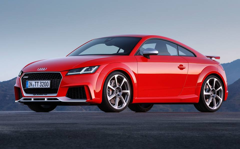 2017 audi tt rs goes official. Black Bedroom Furniture Sets. Home Design Ideas