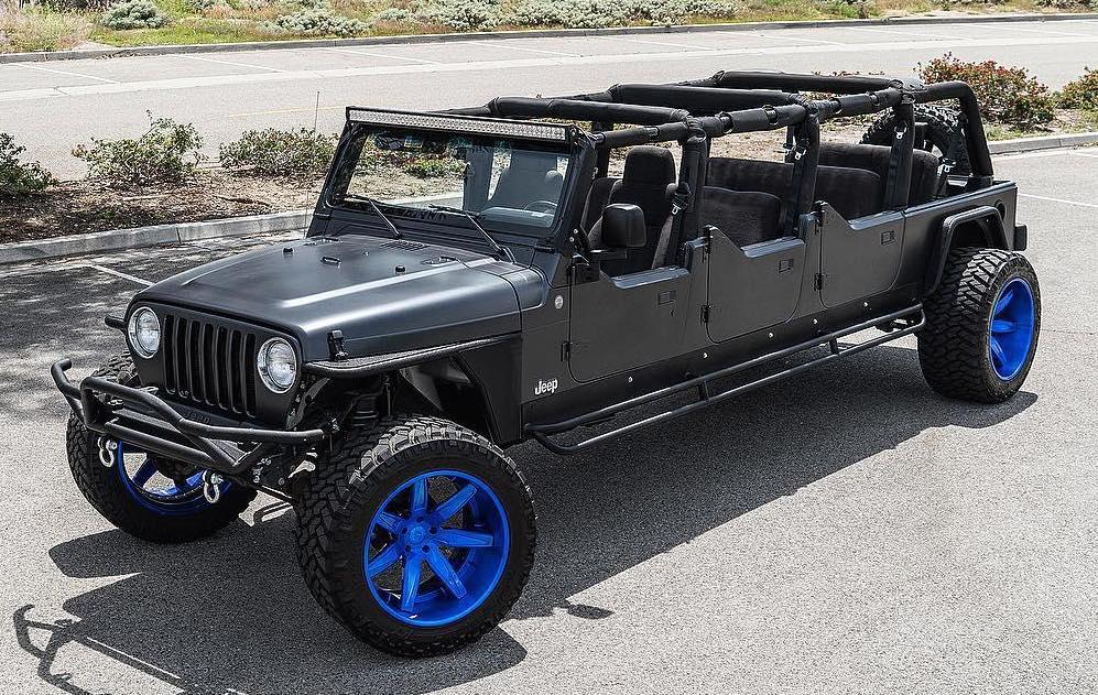 Ever Seen A 6 Door Jeep Wrangler Off Roader