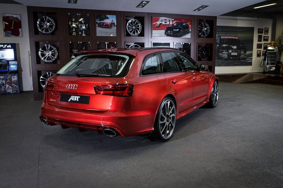 Latestcarnews: ABT Audi RS6 Individual
