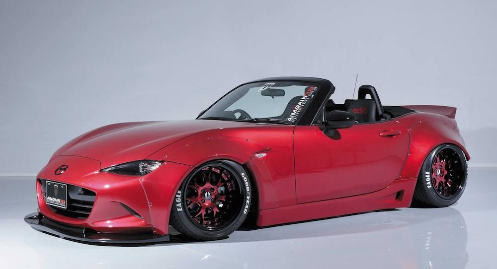 Jaguar F Type Wide Body Kit >> Spotlight: Aimgain Mazda MX-5 Wide Body