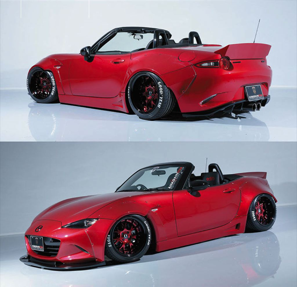 spotlight aimgain mazda mx 5 wide body. Black Bedroom Furniture Sets. Home Design Ideas