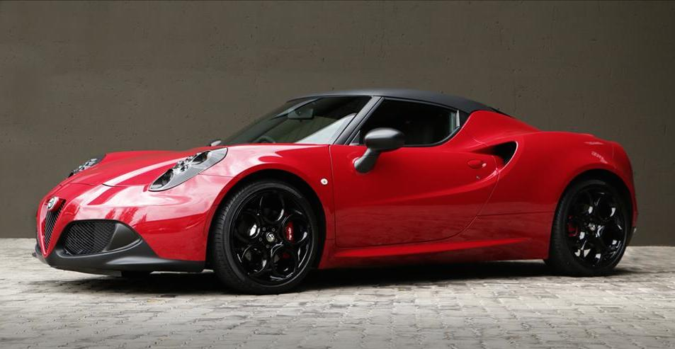 custom alfa romeo 4c by race. Black Bedroom Furniture Sets. Home Design Ideas