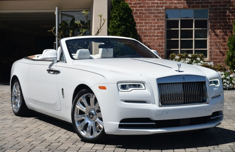 Eye Candy Arctic White Rolls Royce Dawn