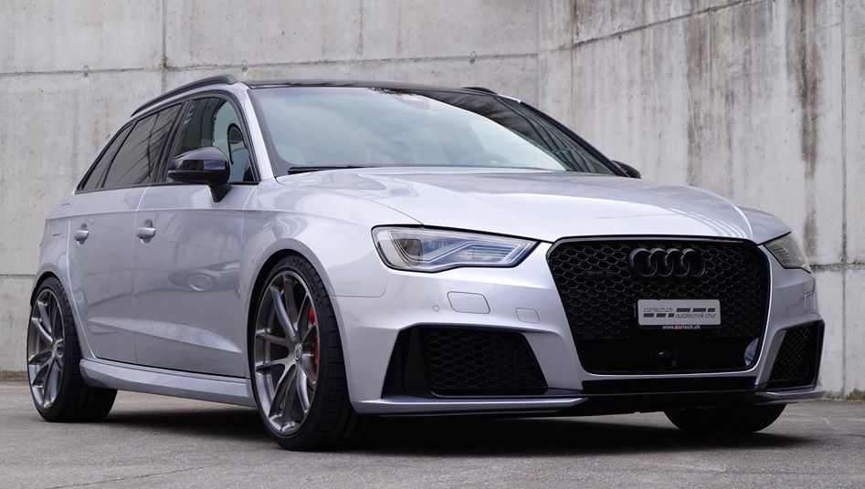 Handsome Hatch Audi Rs3 On Hre Wheels
