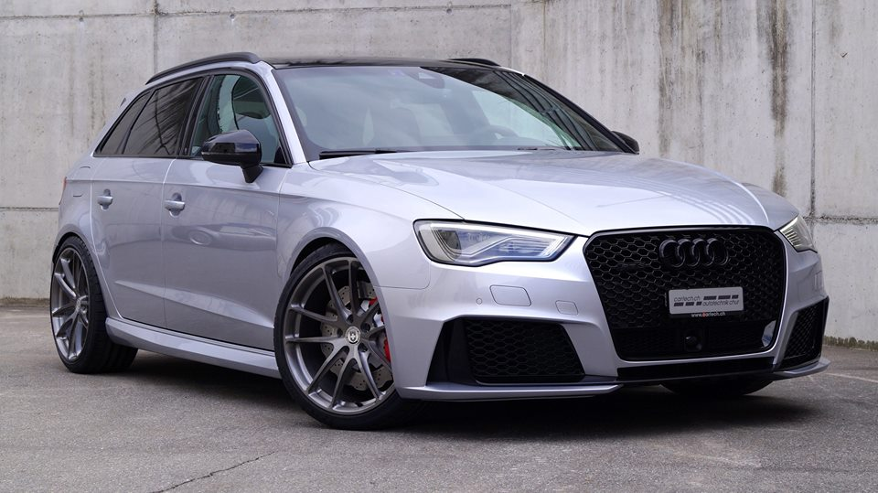 handsome hatch audi rs3 on hre wheels. Black Bedroom Furniture Sets. Home Design Ideas