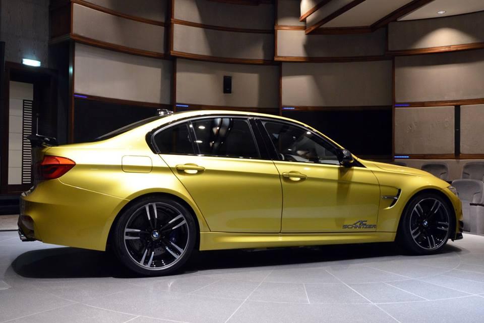 Gallery Austin Yellow BMW M3 Goes Custom  Motorward
