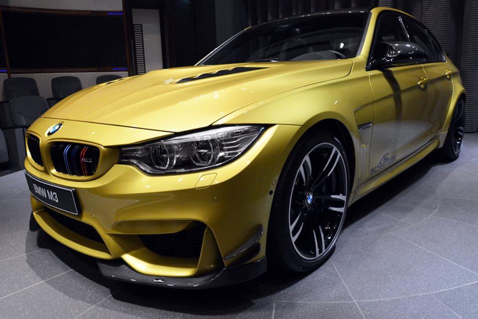 Gallery Austin Yellow Bmw M3 Goes Custom