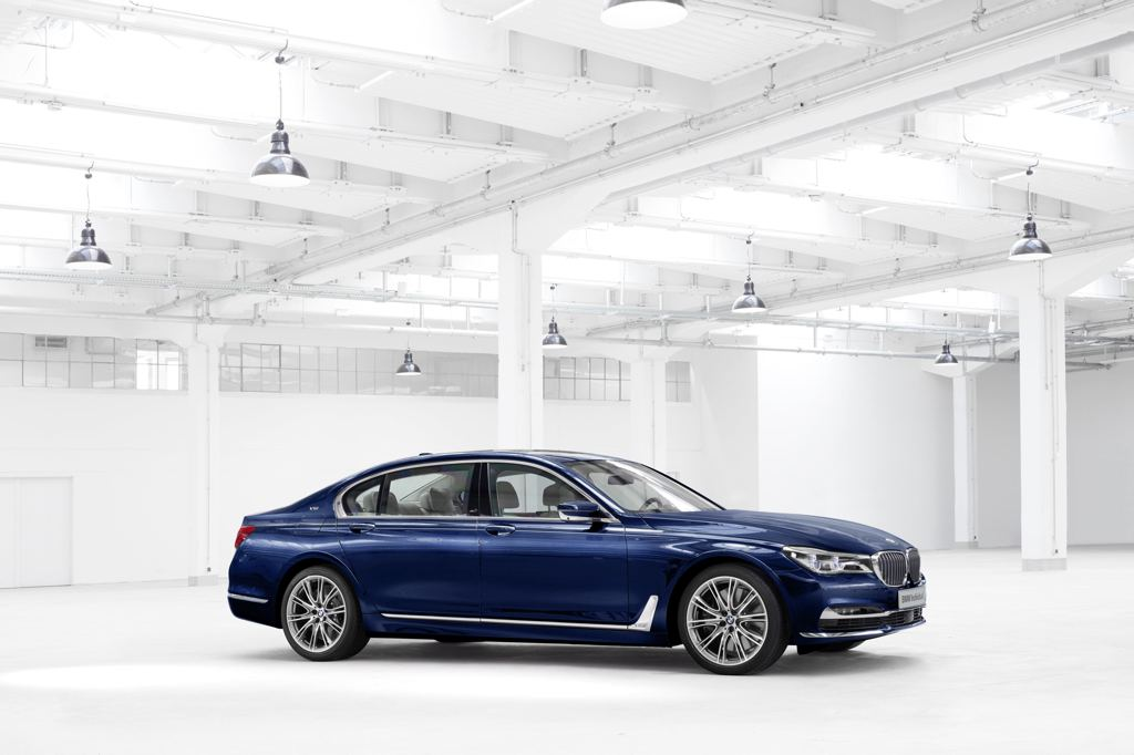 official bmw 7 series individual 100 years. Black Bedroom Furniture Sets. Home Design Ideas