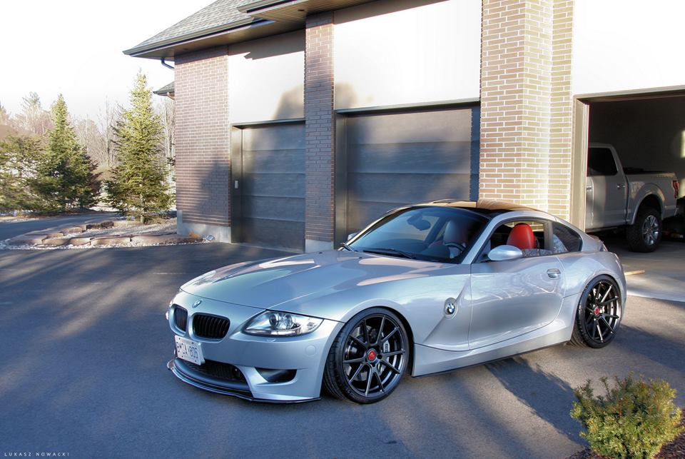 Old Bmw Z4 Looks Good With Vorsteiner Rims