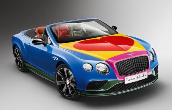 Bentley Continental Art Car-0