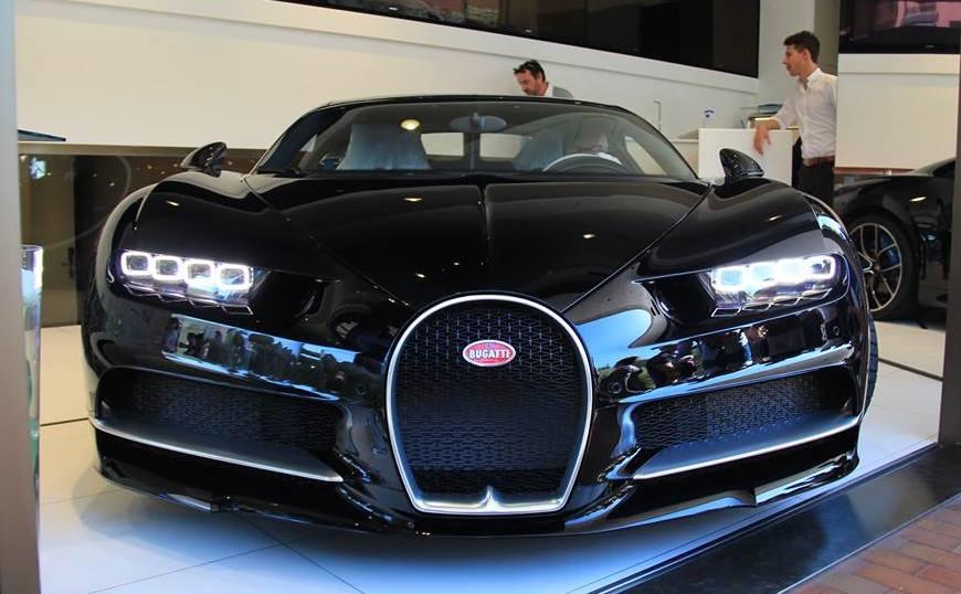Black Bugatti Chiron Arrives In Monaco