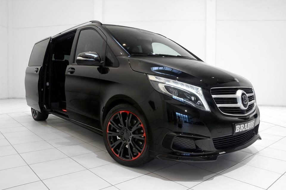 brabus mercedes v250 is a van like no other. Black Bedroom Furniture Sets. Home Design Ideas