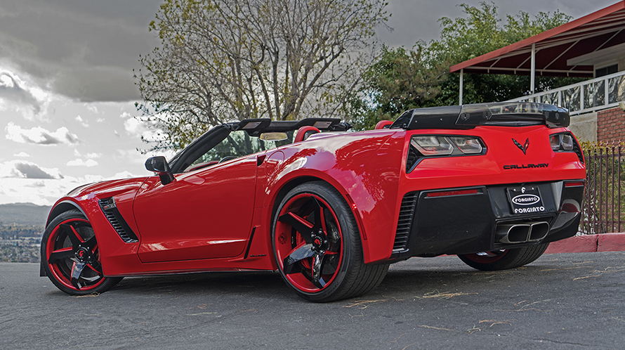 Callaway Corvette Z06 Stingray On Forgiato Wheels