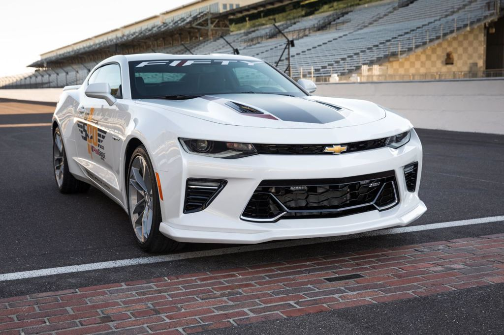 Camaro SS 50th Anniversary to Pace the 100th Indy 500