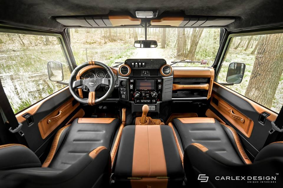 Carlex Design Land Rover Defender Nakatanenga