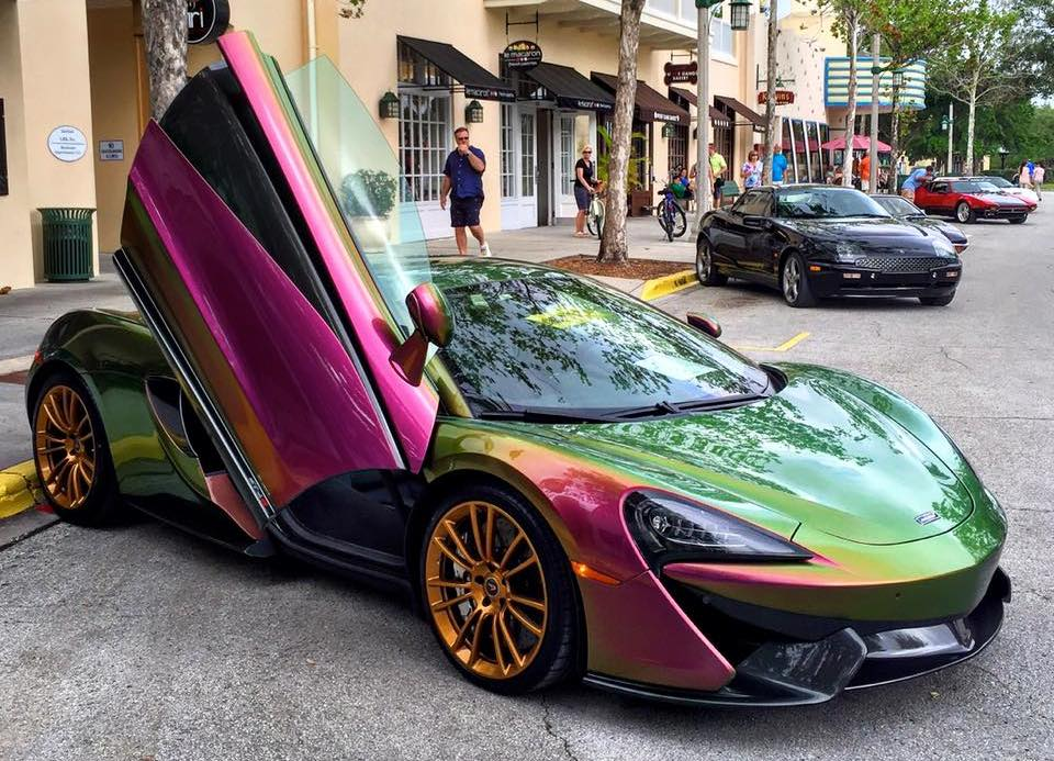 Chameleon McLaren 570S Sighted in Florida